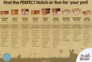 Pet Specialist Rabbit Hutches and Runs Cambridgeshire