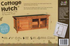 Pet Specialist Cottage Hutch Cambridgeshire